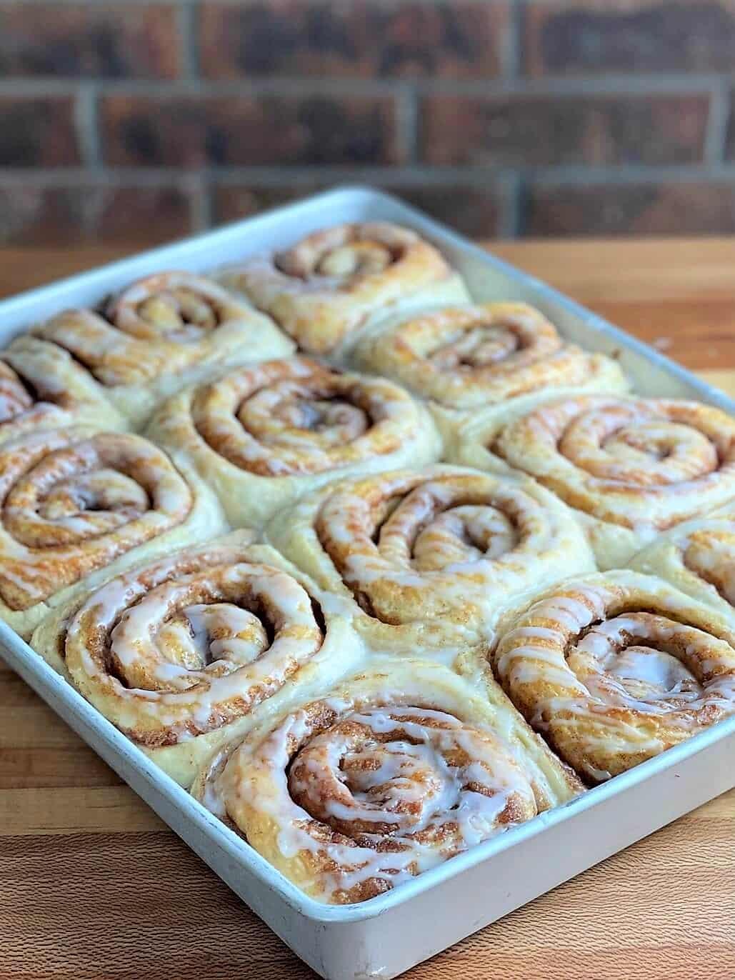 soft cinnamon rolls bakery recipe