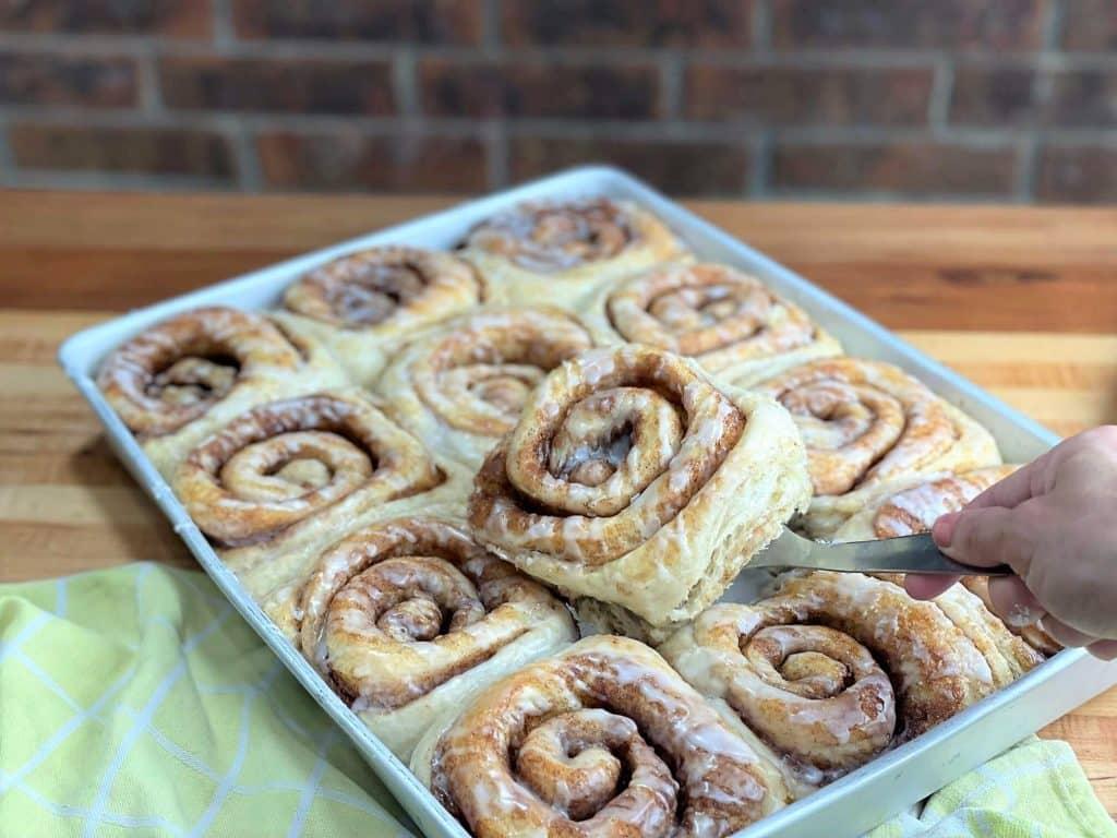 soft and gooey bakery style cinnamon rolls a bakery recipe