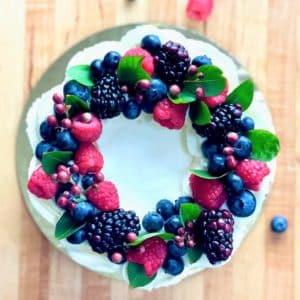 Berries n Cream Cake