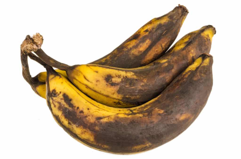 over ripe bananas for banana cake