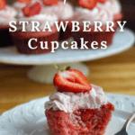 Triple Strawberry Cupcakes Pinterest Amycakes Bakes