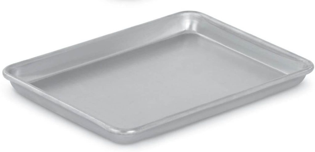 1/4 sheet pan for cut and stack method